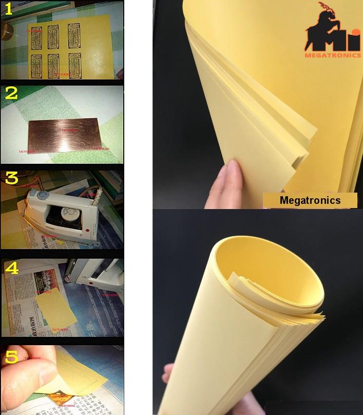 10pcs PCB A4 Thermal Transfer Paper Inkjet Transfe