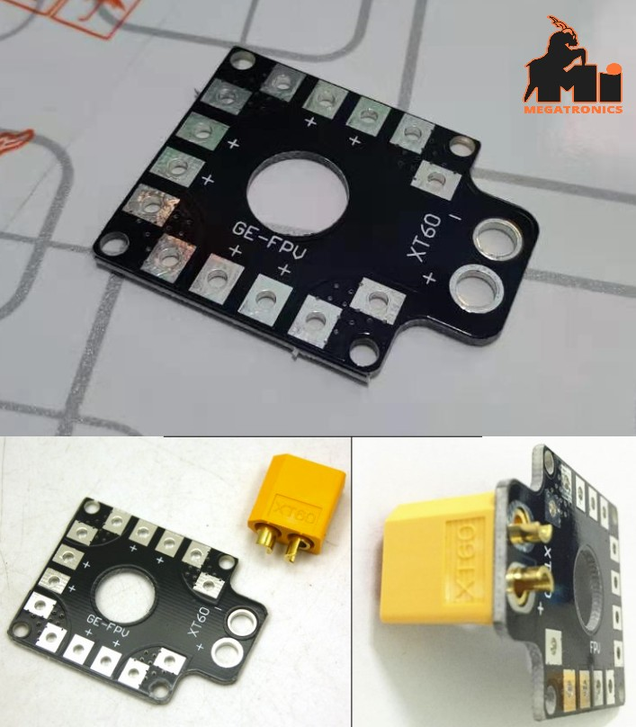XT60 Mini Power Distribution Board quadcopter RC P