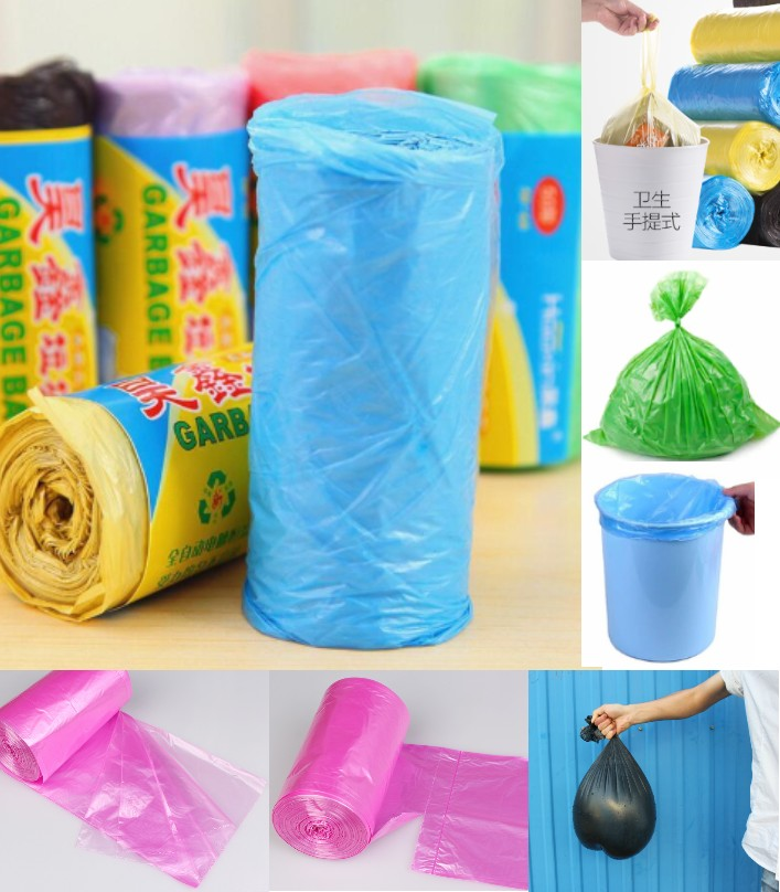 1 roll 45*55 CM Portable Disposable Plastic bag Mu