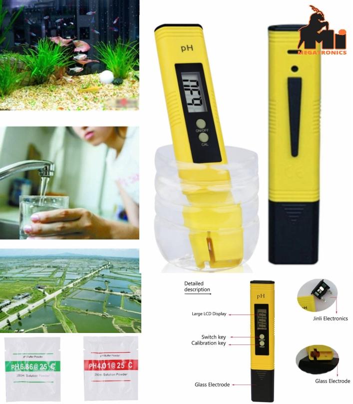 Ph Acidity Meter Ph02 Test Pen water quality aquat