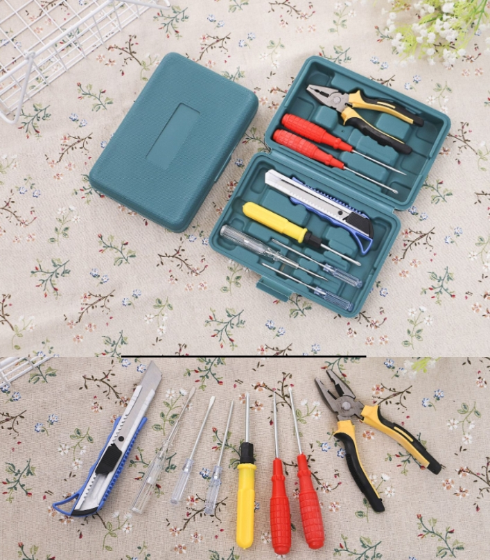 24PC Household Multifunctional Toolbox screw drive