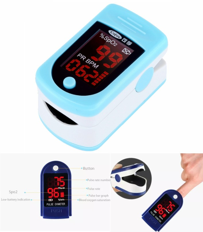 Portable finger Pulse Oximeter FDA Approved