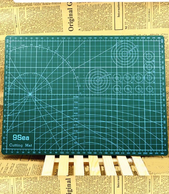 DIY A4 Cutting Mat Rubber Stamp Sculpture assistan