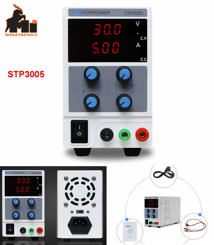Adjustable DC 0-30V 5A Switching Power Supply STP3005