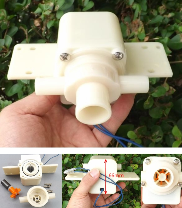 220V AC Micro Submersible Pump Circulation Pump qu