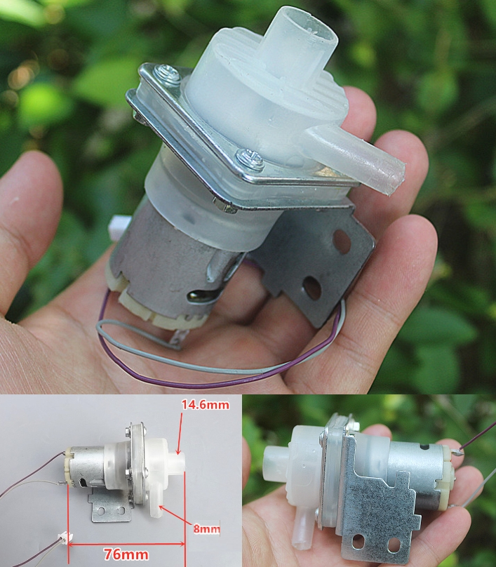 9V Miniature water pump magnetic centrifugal pump