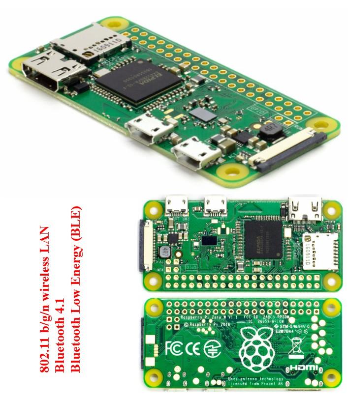 Raspberry Pi Zero WiFi camera port(Wifi+Bluetooth)