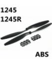 CW + CCW 12x4.5 1245 ABS Props Propeller Blade