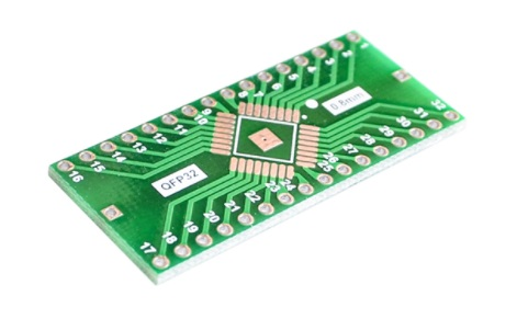 TQFP LQFP EQFP QFP32 SMD 0.8mm to DIP32 Adapter PC