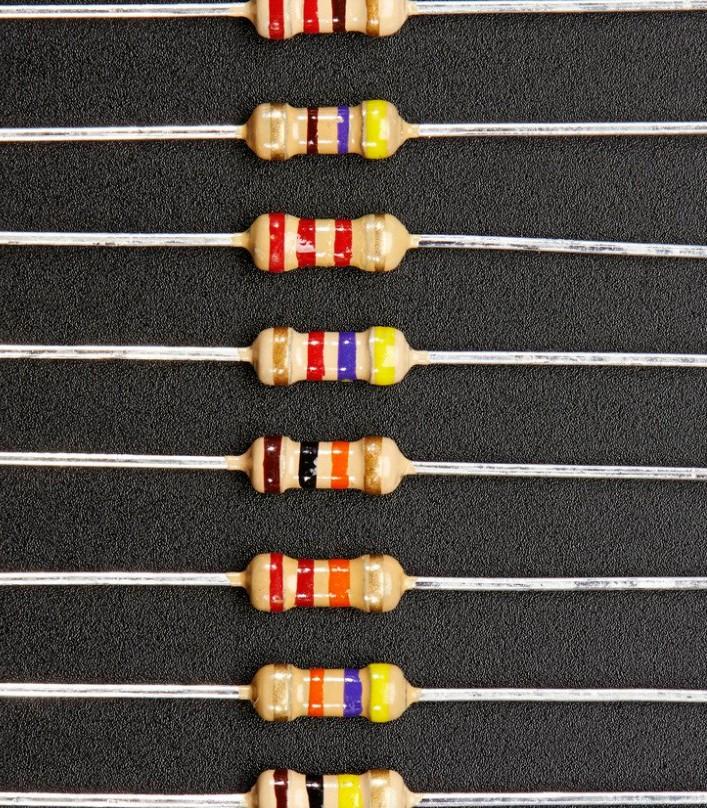 1 ohm Through Hole Resistor 5% 1/4W