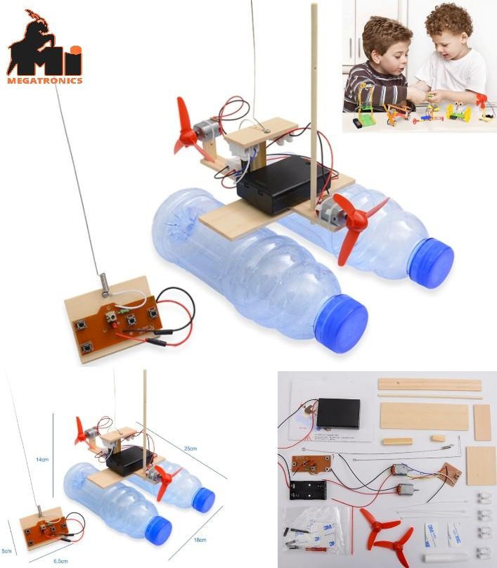 remote control wind ship boat model scientific exp