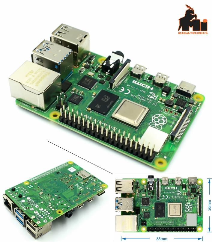 Raspberry Pi 4B 1.5GHz Quad-Core 2GB RAM UK Offici