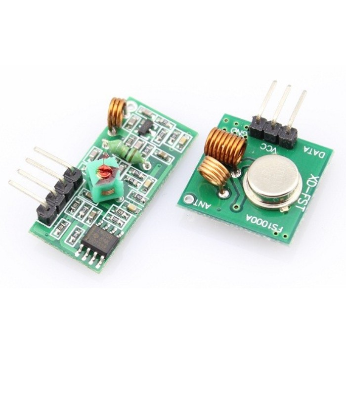 433MHZ RF Wireless Receiver + Transmitter Module