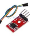 AT24C02 I2C EEPROM memory module
