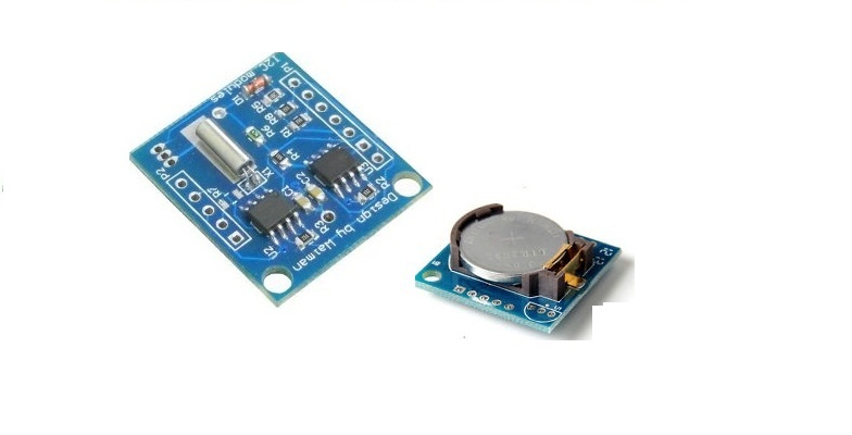 I2C RTC AT24C32 DS1307 RTC Module + battery cell