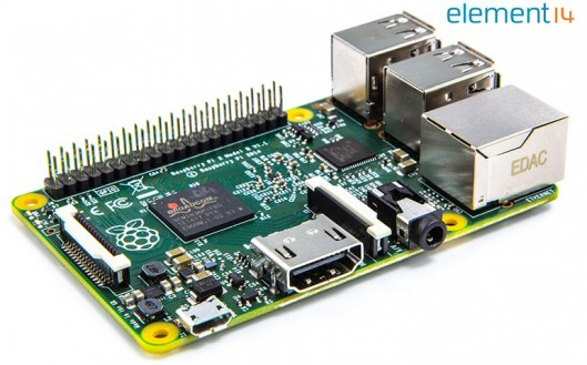 Raspberry Pi 2 Model B ARMv7 with 1G RAM