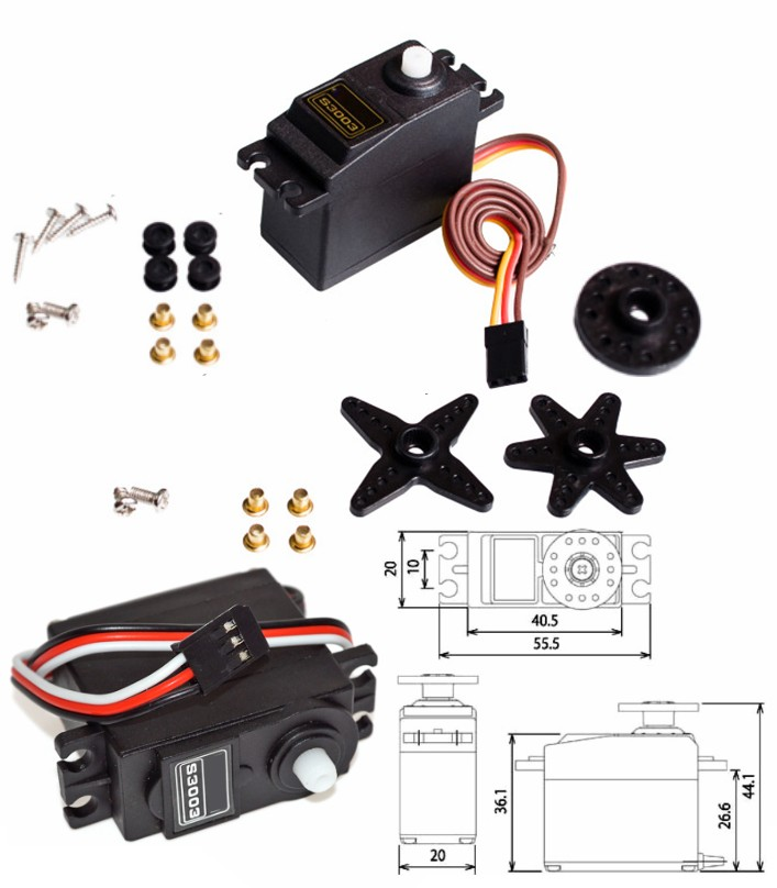 Futaba S3003 RC Servo Motor 180 degree