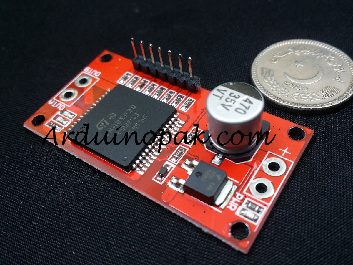 30A VNH2SP30 Monster h bridge stepper motor driver