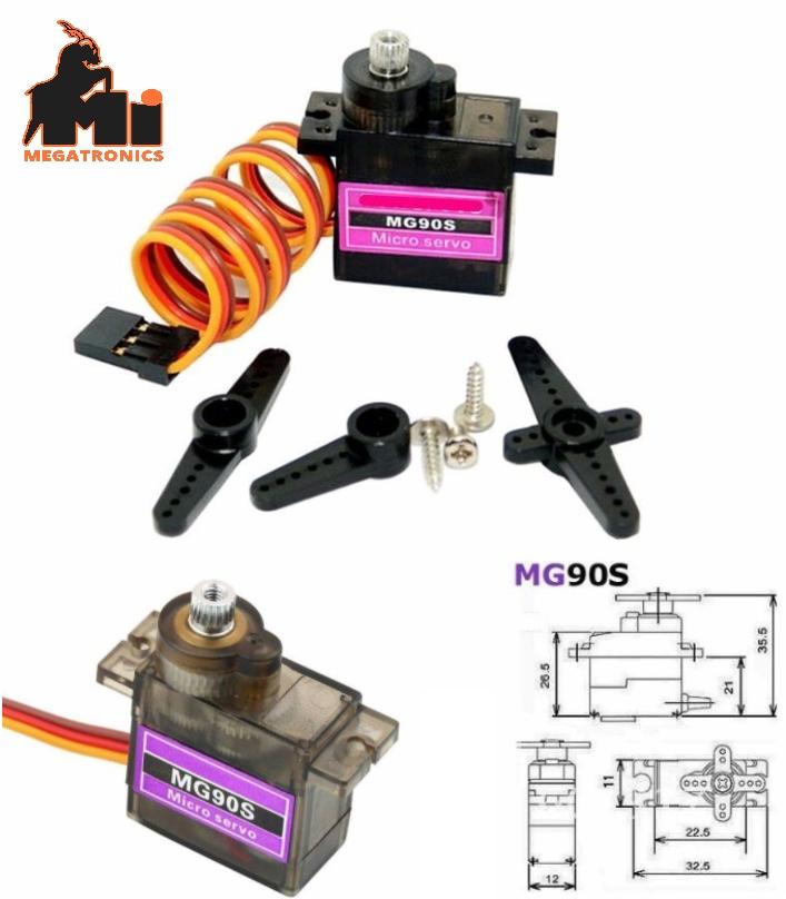 TowerPro MG90S Metal gear micro servo 12g