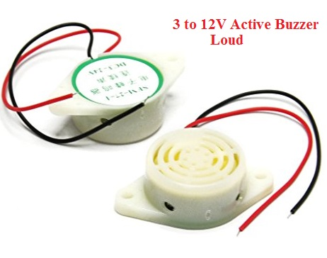 Buzzer SFM27 DC3-24V Wire Continuous Sound speaker