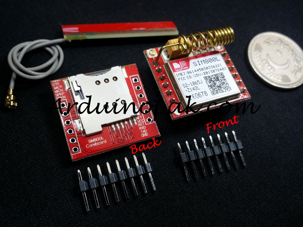 SIM800L GPRS GSM Module MicroSIM (Not Registered)