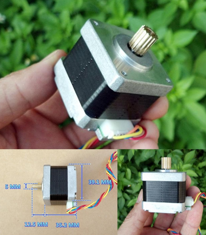 stepper motor 1.8 degree 1.3A 0.18Nm Two-phase fou