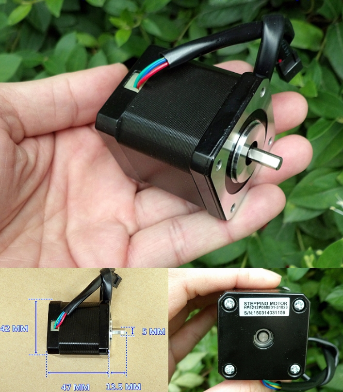 High torque Stepper motor 0.5Nm 1.8 degree 42