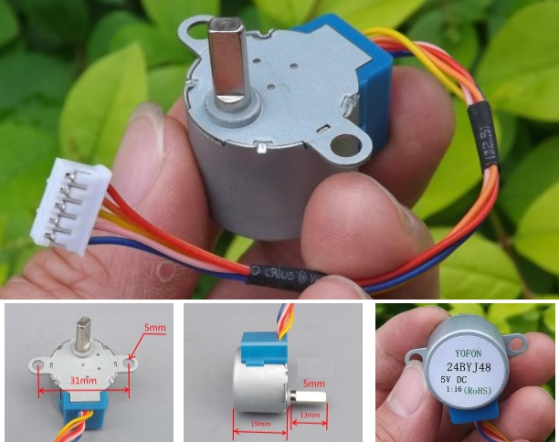 24BYJ-48 HQ Stepper Motor 12V