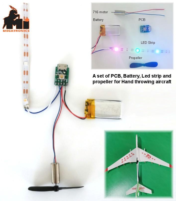 diy airplane battery motor PCB circuit board set h