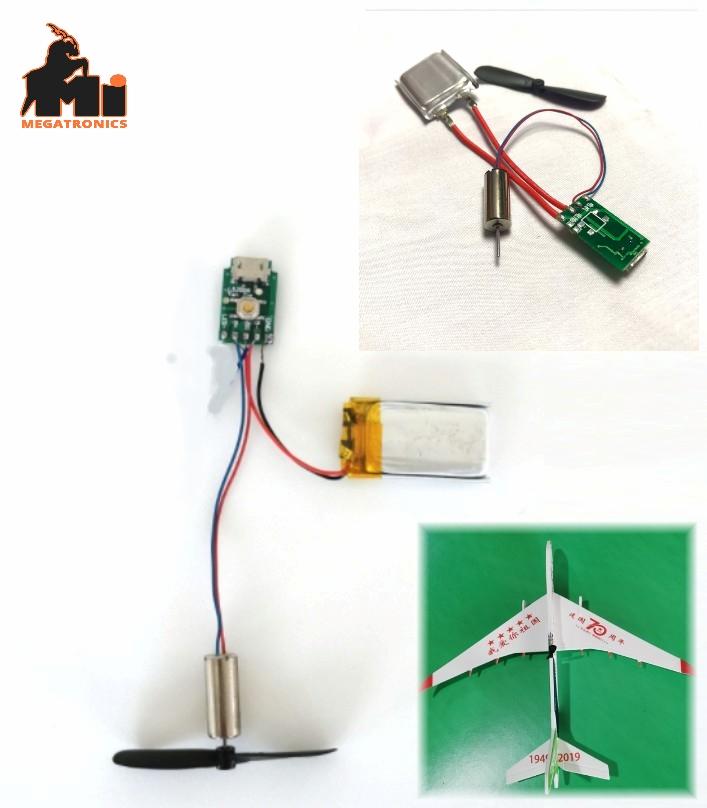 diy airplane battery motor PCB circuit board set hand throwing