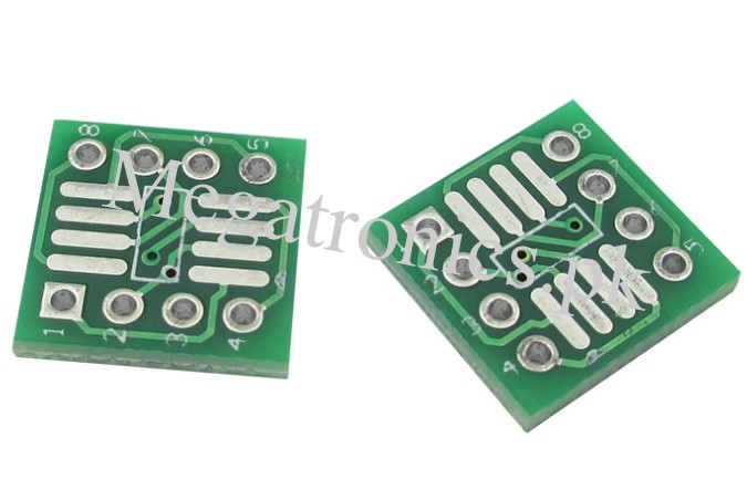SOP8 SSOP8 TSSOP8 SMD To DIP8 Adapter 0.65/1.27mm