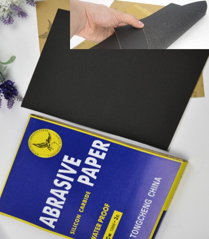 CW600-2C Sand paper abrasive paper Silicon Carbide