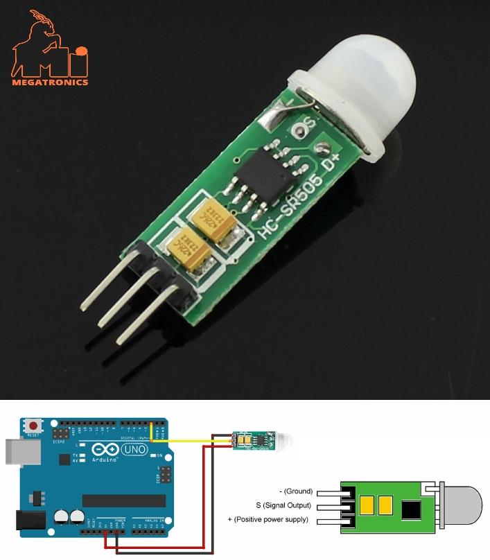 HC-SR505 Mini Infrared PIR Motion Sensor Precise