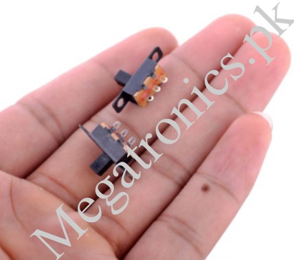 SS-12F15 Toggle Vertical Slide Switch 1P2T 3 Pin 6