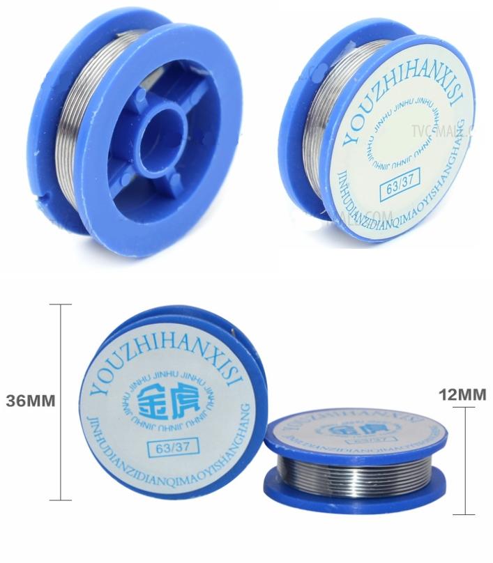 Rosin core solder wire 1.7M 13g role soldering wir
