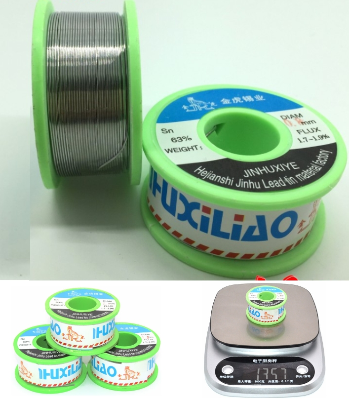 Rosin core solder wire 130g 0.5mm soldering wire