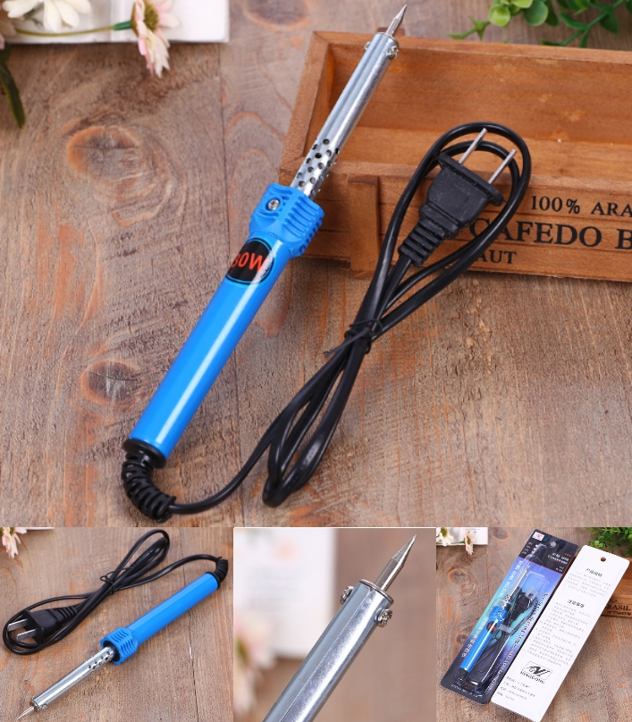 AC 220V 30W Soldering Iron Pencil Welding Tip