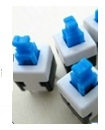 8x8 MM self-locking Key switch button switch