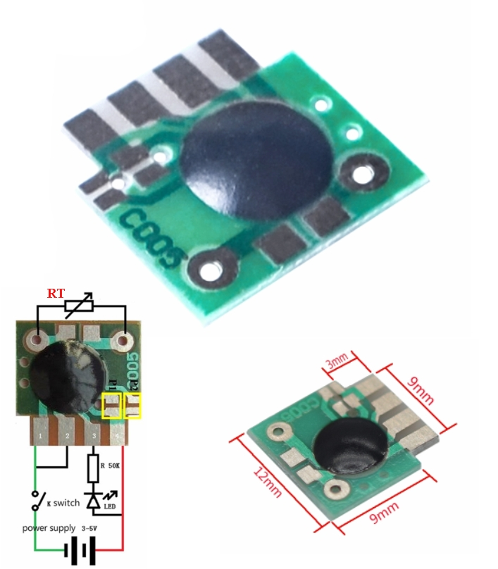 Multifunction Delay Trigger timer IC Chip Timing 2