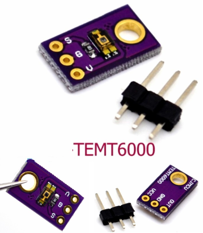 TEMT6000 Light Sensor Professional Module PIC ARM