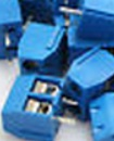 2pins  5.08mm  Blue  Terminal block