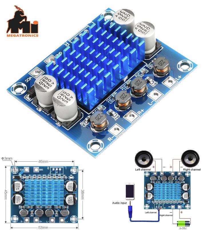 TPA3110 XH-A232 Audio Power Amplifier 30W+30W 2.0 Channel Digital Stereo  Board