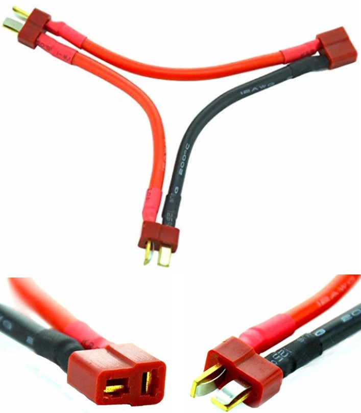 T-Plug Series Battery Connector Cable Extension
