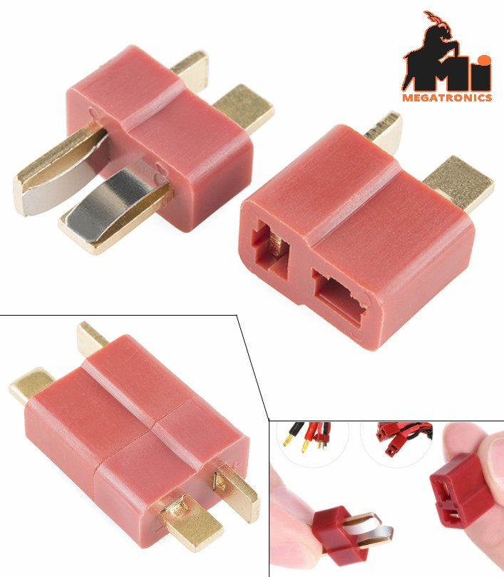 Deans Ultra T plug connecter male+female 50A
