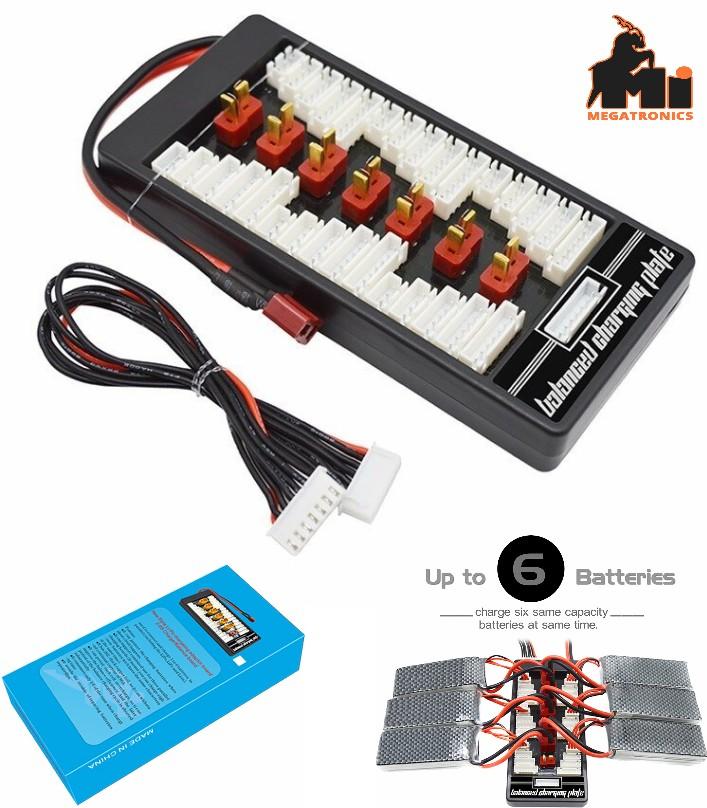 2-6s parallel charging board B6 B8 B6AC A6 tplug t-plug plate IMAX