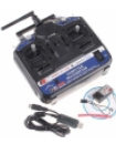 FlySky FS-CT6B 2.4G 6-Channel Transmitter + 6 Chan