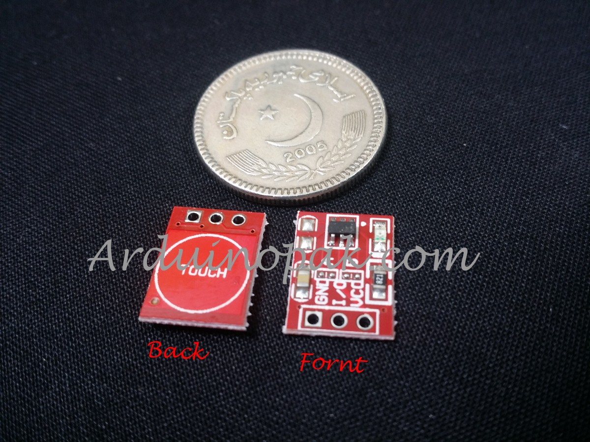TTP223 Capacitive Touch Switch Button Self Lock Mo