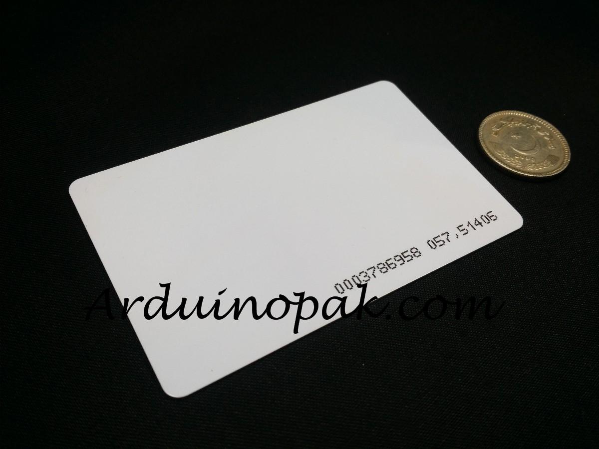 RFID Tag card 125kHz MFRC