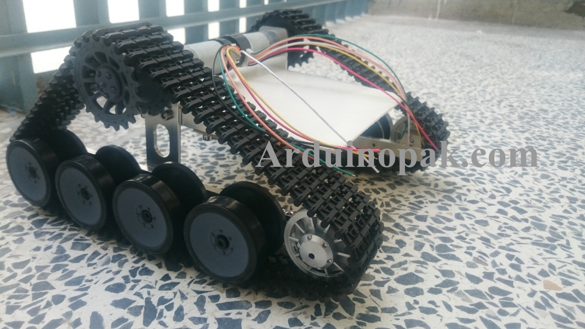 Tank Chassis Crawler Intelligent Barrowload DIY Ro