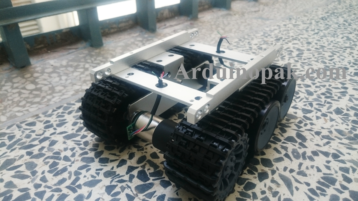 Intelligent Robot Tank Crawler Robotic Chassis Cat
